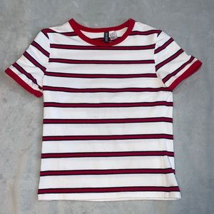 H&M DIVIDED striped tee‼️